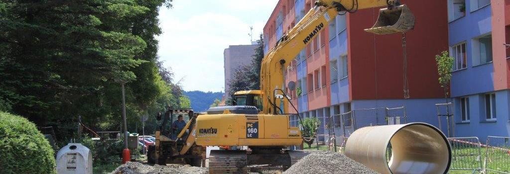 Obnova kanalizace ulice Puškinská, Kutná Hora