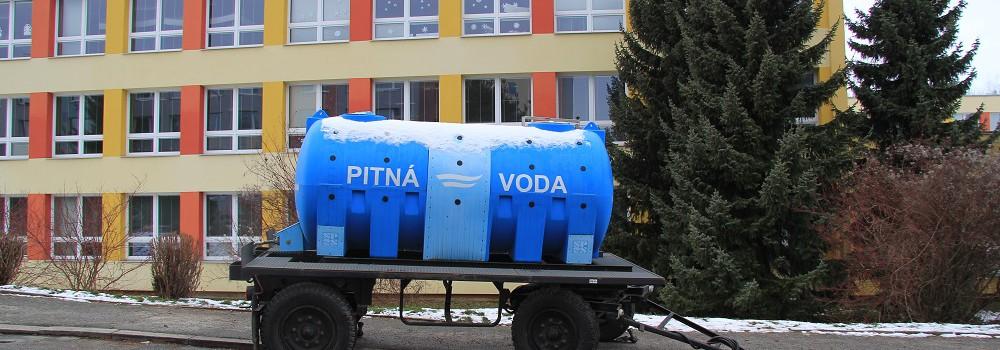 Porucha na vodovodním řadu v ulici Jana Palacha, Kutná Hora