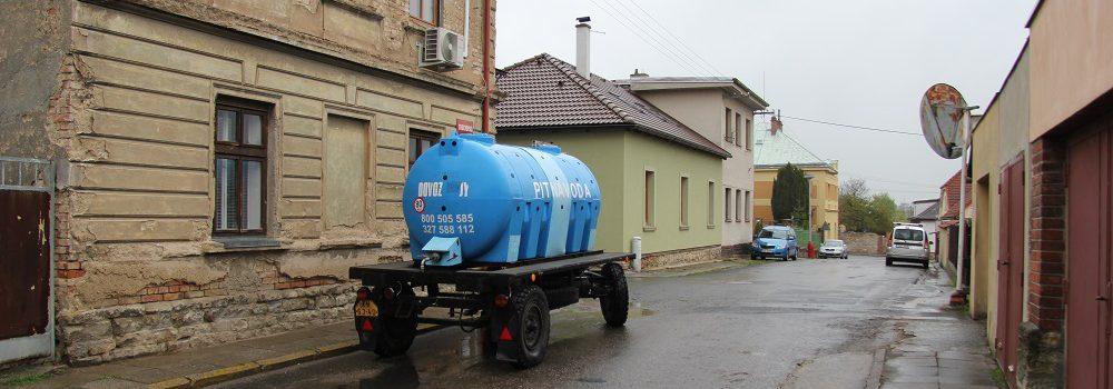 PŘIPOMENUTÍ: Přerušení dodávky pitné vody v Kutné Hoře - rozmístění cisteren s pitnou vodou